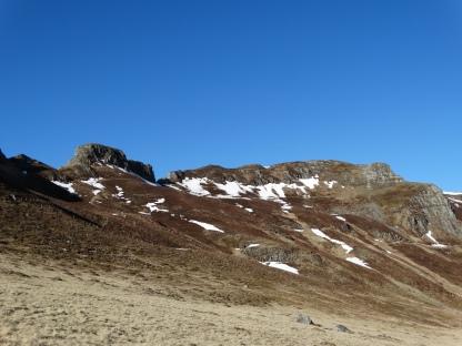 Le Roc des Ombres et les crêtes
